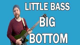 Fat Bottom Bass! || Gretsch G2220 Junior Jet Star II Short Scale Demo/Review