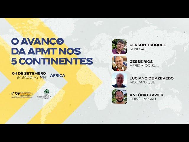 O Avanço da APMT nos 5 Continentes | África