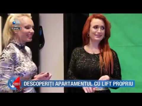 LUXURY PENTHOUSE | KANAL D ROMANIA NEWS | Stirile Kanal D Romania. CASA DE VEDETA la INGA VALERIE.