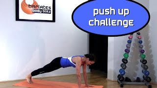 FREE Upper Body Workout - 10 Minute Push Up Challenge BARLATES BODY BLITZ