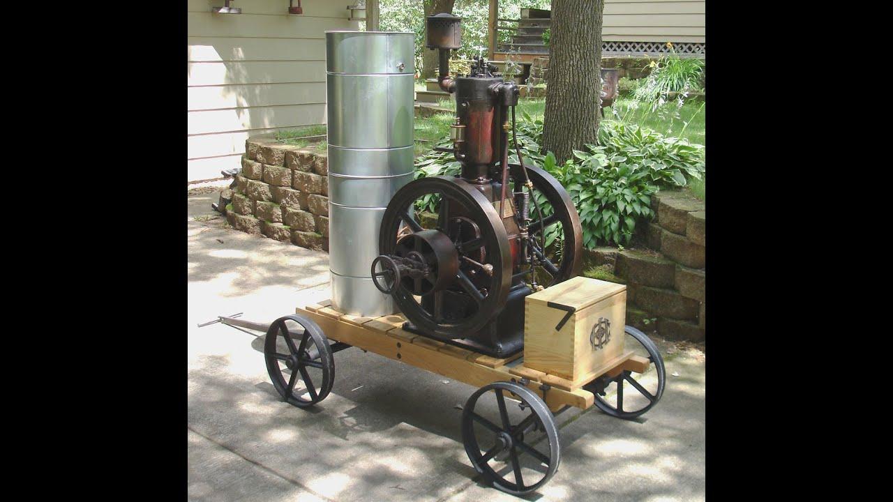 Gas Engine: Vertical Gas Engine