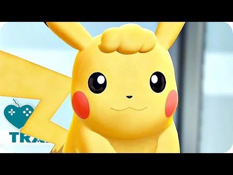 Pokémon: Let's Go Trailer 2 Pikachu & Evoli (2018) Pokemon Switch Game