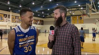 Steph Curry Interview: The Starters