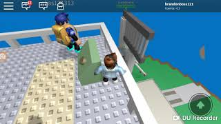I play natural disasters in roblox