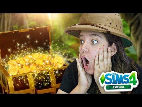 ENCONTREI UM TESOURO! - The Sims 4 Estações