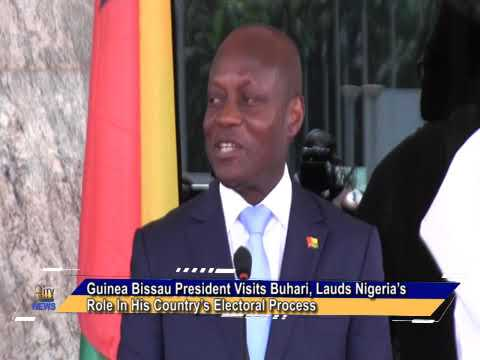 Guinea Bissau President Visits Buhari, Lauds Nigeria's Role In His Country's Electoral Process