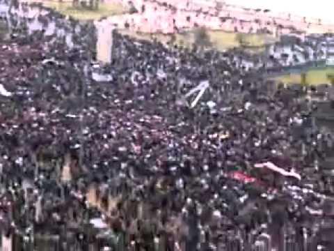 BASHAR AL ASSAD TARAFTARLARI- NATO VE AMERİKA'YI PROTESTO EDİYOR.