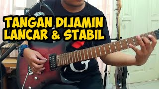 Ini Cara Agar Jari Lancar & Tempo Stabil Saat Main Gitar   Fingering (Senam Jari) Pakai Metronome