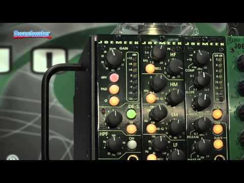 Joe Meek PreQ 500 Series Mic Preamp/Channel Strip Overview - Sweetwater At Summer NAMM '13