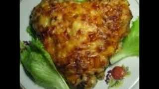 Картошка по-французски с мясом. Рецепт под видео.
