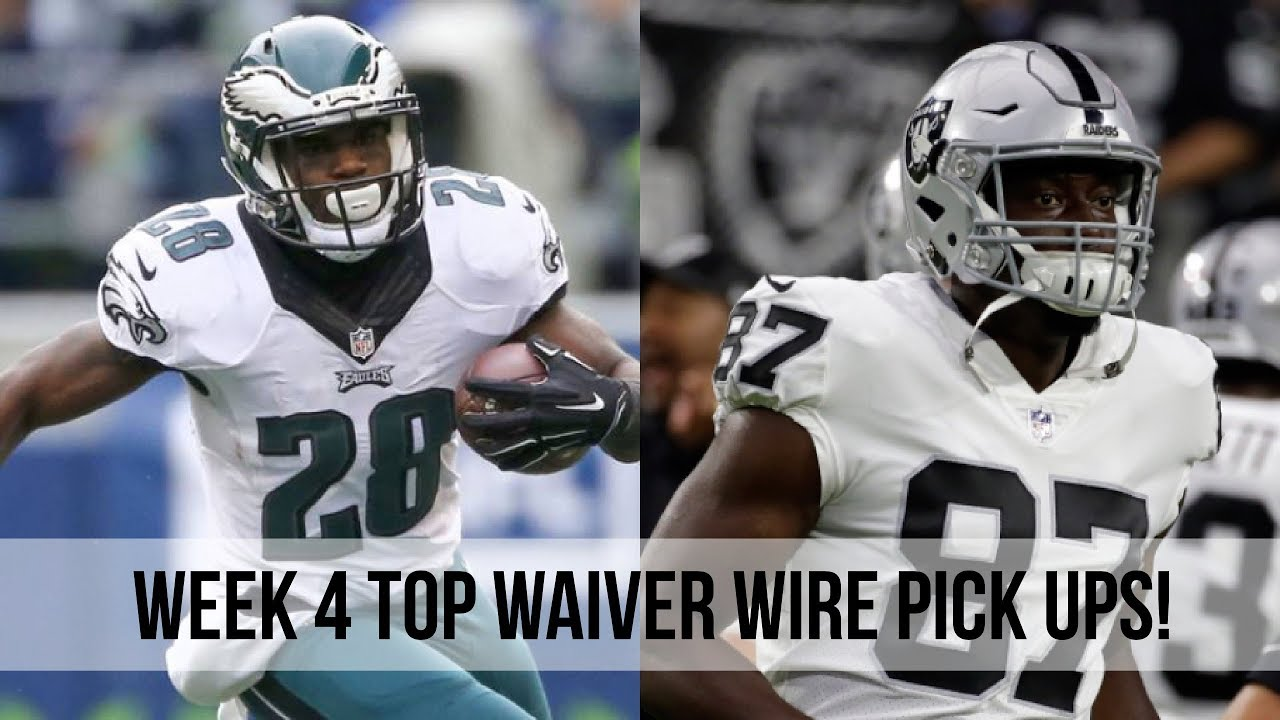 2017 NFL Fantasy Football Week 4: Top Waiver Wire Pickups! - YouTube
