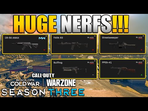 SMG Meta Back in Warzone   Huge Nerfs to Mobility, AMAX, FARA, Streetsweeper, and More