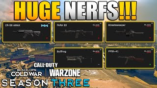 SMG Meta Back in Warzone | Huge Nerfs to Mobility, AMAX, FARA, Streetsweeper, and More
