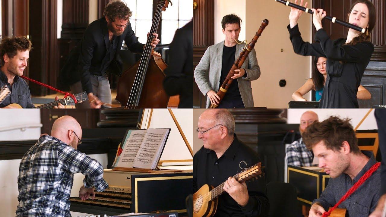 J S  Bach - G Major Prelude (After BWV 884), LIVE / Emi Ferguson & Ruckus