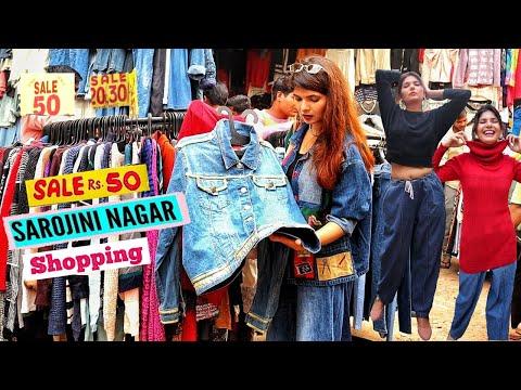 Sarojini Nagar Market Delhi | Rs. 1000 Shopping Challenge | Best Shops In Sarojini Market | The Moi