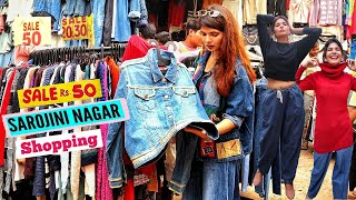 Sarojini Nagar Market Delhi | Rs. 1000 Shopping Challenge | Best Shops in Sarojini Market | The Moi