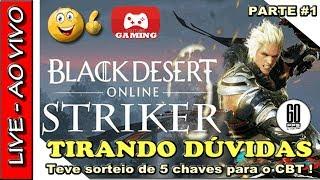 🔴 JOGANDO BLACK DESERT COM A NOVA CLASSE STRIKER - SORTEIO DE 5 CHAVES PARA O BLACK DESERT SA ! thumbnail