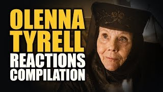 Game of Thrones OLENNA TYRELL Reactions Compilation