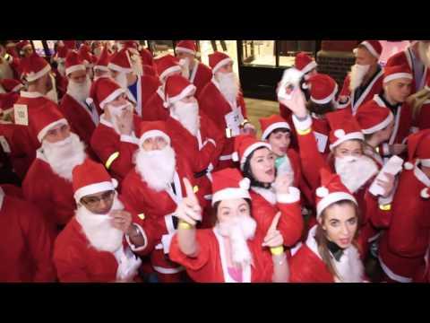 London Santa Dash 2016