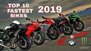 Top 10 Fastest Bikes In The World 2019