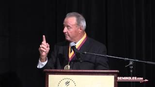 Full Bobby Bowden FSU Hall of Fame Speech