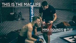 Conor McGregor spars @ TUF Gym THIS IS THE MAC LIFE