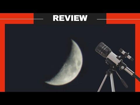 Toyerbee Telescope 70mm Aperture 300mm Refractor Telescope Review, Test | ToyerBee Telescope F30070M