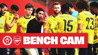 Bench Cam   Sheffield United 1-2 Arsenal   Emirates Fa Cup
