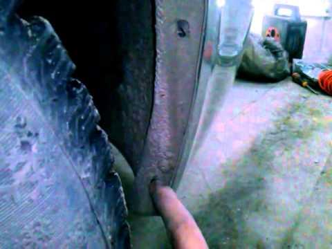 Как снять передний бампер Лада Приора