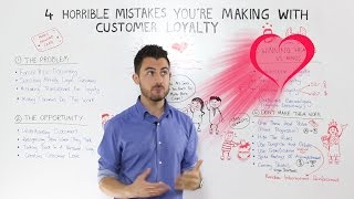 Customer Loyalty Marketing: 4 Mistakes you can easily avoid!