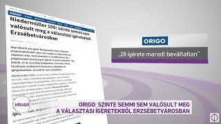 Origo: szinte semmi sem valósult meg a választási ígéretekből Erzsébetvárosban