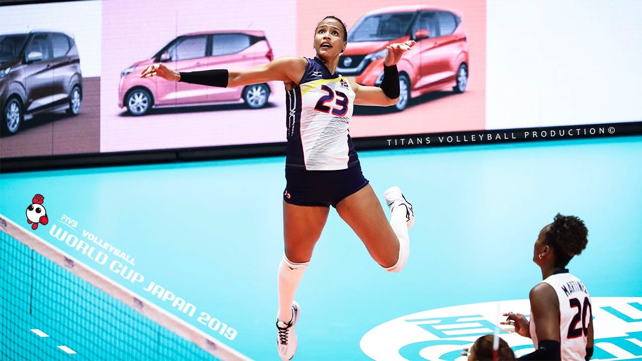 Gaila Ceneida Gonzalez Lopez - Best Volleyball Actions | Women's Volleyball World Cup 2019