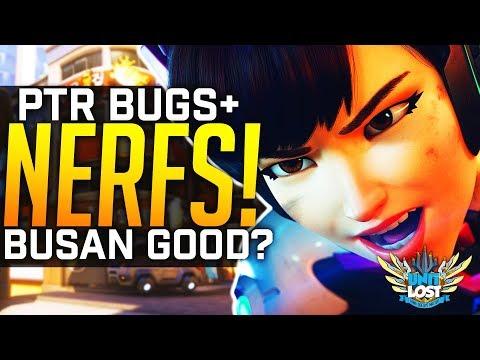 Overwatch - Brigitte NERFED! - Hammond HUGE Bug FIXED! - Reinahardt Shatter Fixes!