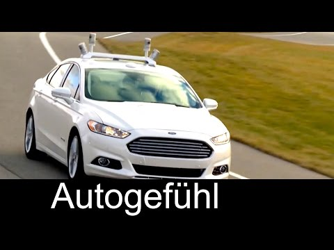 Autonomous Vehicle development: Milestones and key facts with self-driving Ford cars