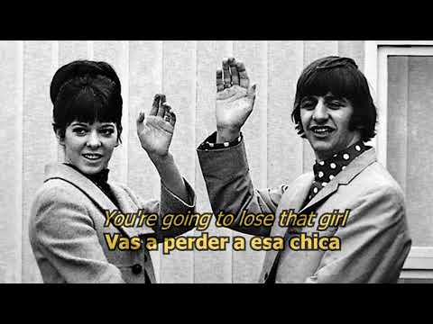 You're going to lose that girl - The Beatles (LYRICS/LETRA) [Original]