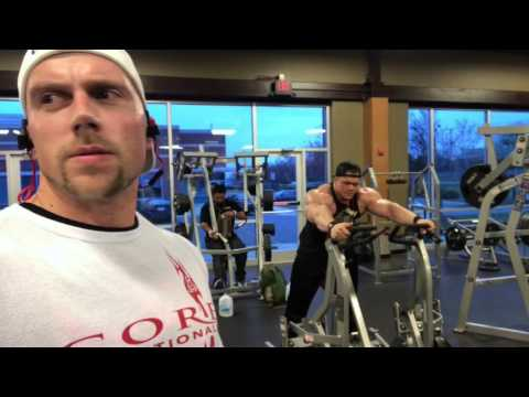 Back Workout With IFBB Pro Dallas McCarver And Natural Pro Doug Miller