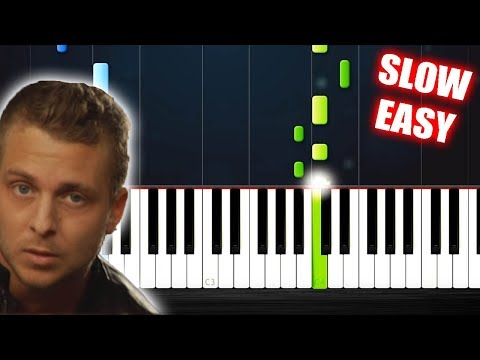 One Republic - Apologize - SLOW EASY Piano Tutorial by PlutaX