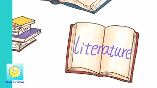 [ Literature ] Learn Grade 7 English Words about Literature ( English French Chinese ) Fast Memory