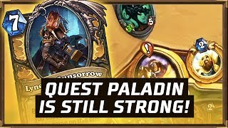 Quest Paladin Is Still Strong! | The Boomsday Project | Hearthstone