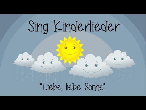Liebe Liebe Sonne Kinderlieder Zum Mitsingen Sing