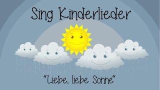 Скачать Liebe Liebe Sonne Kinderlieder Zum Mitsingen Sing Kinderlieder