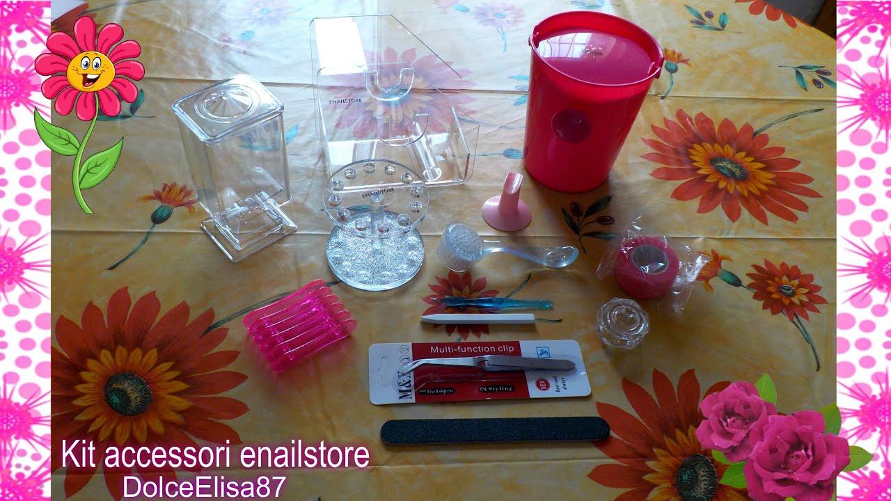 Accessori X Phon.Unboxing Enailstore Kit Accessori Prodotti Per Le Unghie
