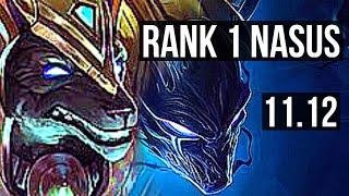 NASUS vs NOCTURNE (TOP) | Rank 1 Nasus, Dominating, 10/4/10 | KR Challenger | v11.12