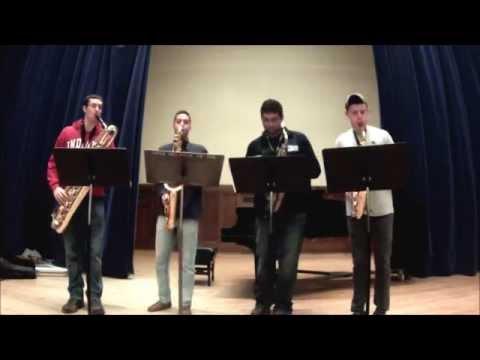 The Twelve Tunes of Christmas for Saxophone Quartet