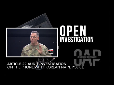 OPEN INVESTIGATION | On the Phone with the Korean National Police