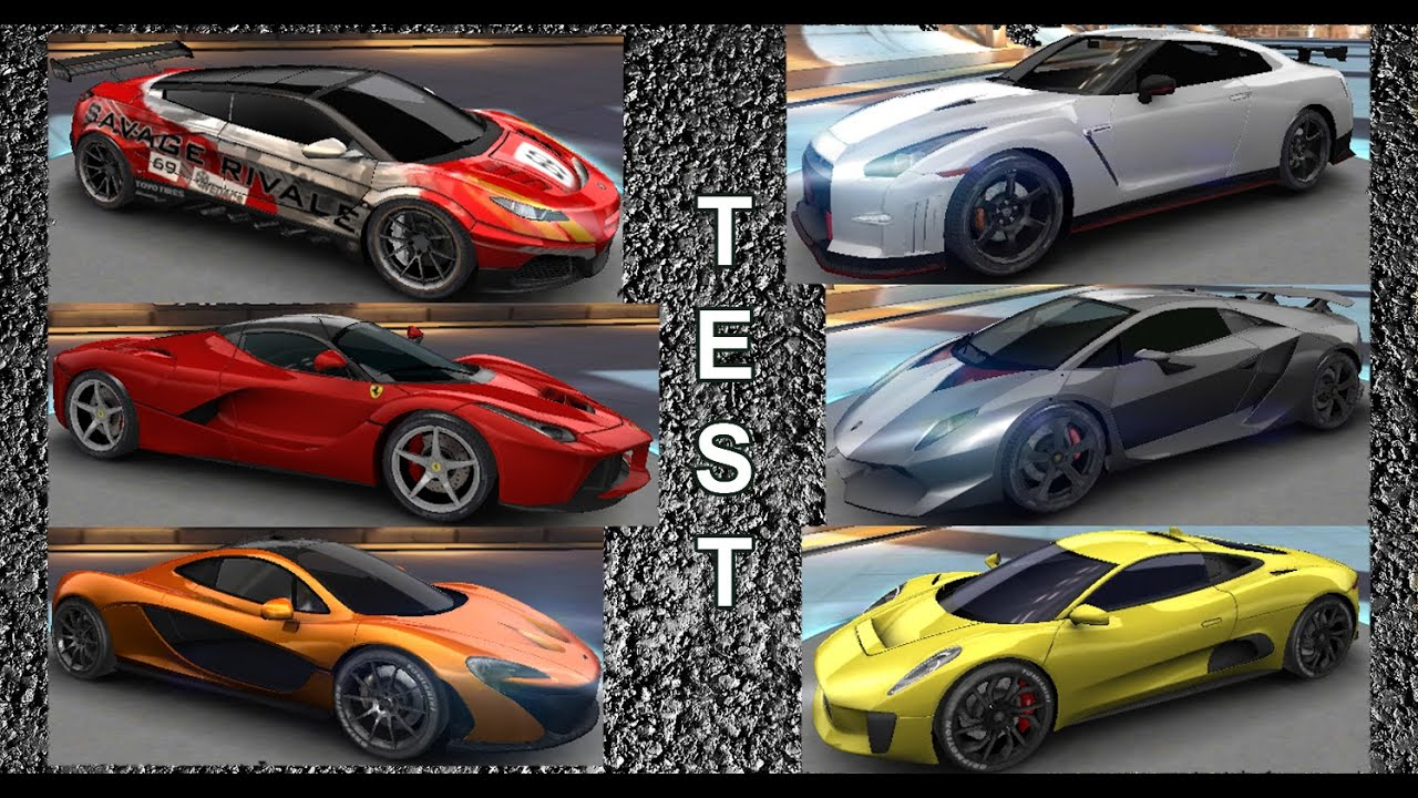 asphalt 8 acceleration test top a class cars youtube. Black Bedroom Furniture Sets. Home Design Ideas