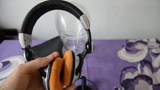 Technics RP-DJ1210 DJ Headphone SPL dB sound test + quick review