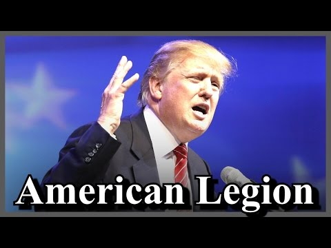 Donald Trump American Legion National Conference Convention in Cincinnati Ohio Remarks [ AMAZING ]
