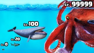 CATCHING a MAX LEVEL KRAKEN in Pirates of the Island