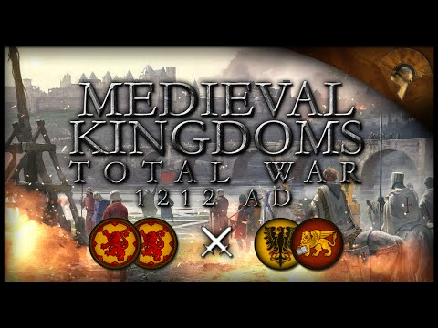SCOTTISH DEFIANCE! - Medieval Kingdoms: Total War 1212 AD (2v2 Massive Battle)